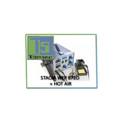 WEP 872D - Stacja lutownicza z hotair