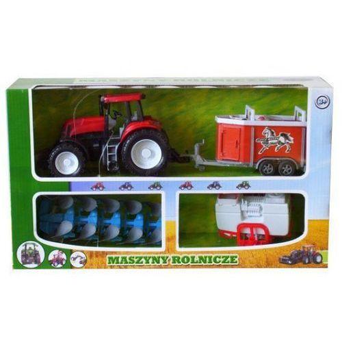 traktor + 3 maszyny rolnicze marki Dromader