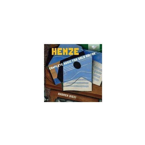 Brilliant classics Henze complete music for solo guitar