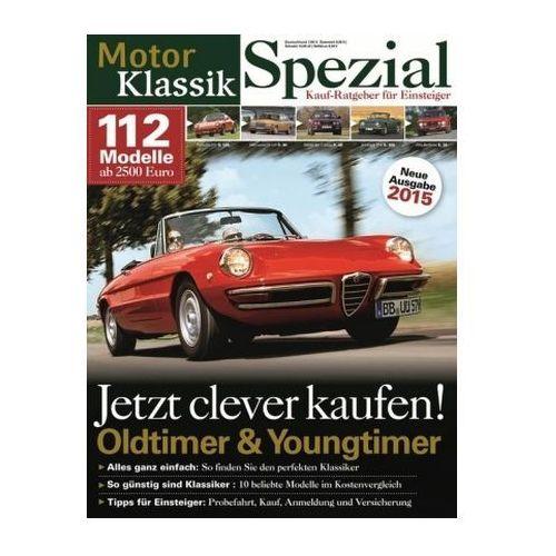 Motor Klassik Spezial - Kaufratgeber für Einsteiger 2015 (9783613307964)