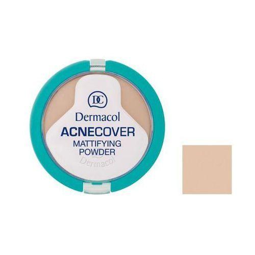 Dermacol  puder matujący acnecover - sand - 11 g