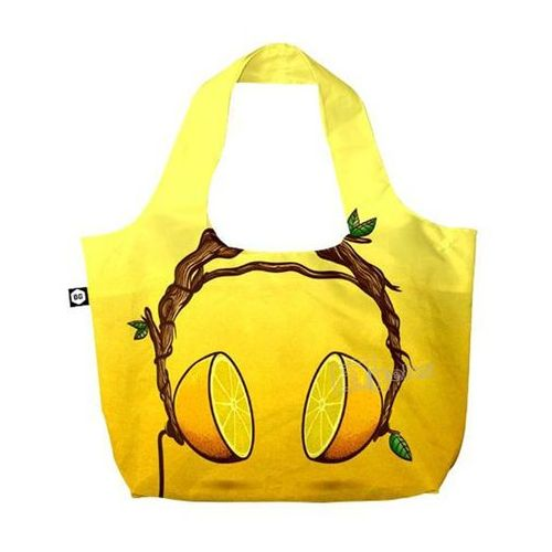Bg berlin eco bags eco torba na zakupy 3w1 - juicy beats