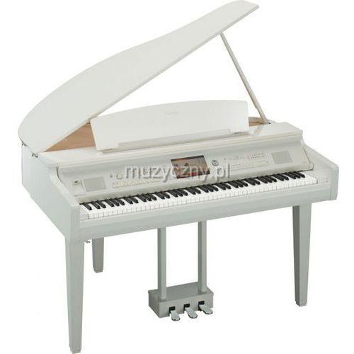 cvp 709 gp pwh clavinova pianino cyfrowe (kolor: biały połysk) marki Yamaha