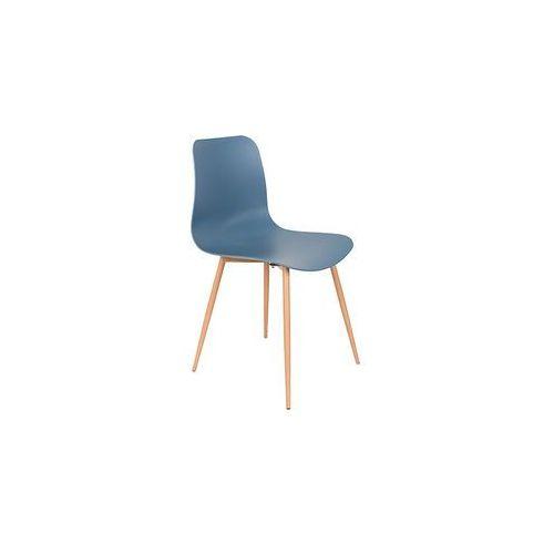 krzesło leon niebieskie 1100306 1100306 marki Orange line