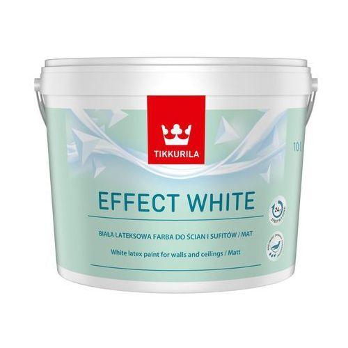 Tikkurila Farba wewnętrzna effect white 10 l (6408070106044)