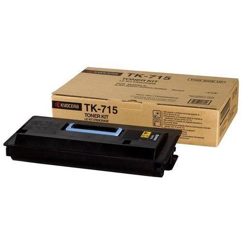 Wyprzedaż Oryginał Toner Kyocera TK-715 do KM-3050/4050/5050   34 000 str.   czarny black