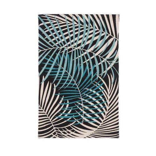 Inspire Dywan bawełniany palm zielony 60 x 90 cm