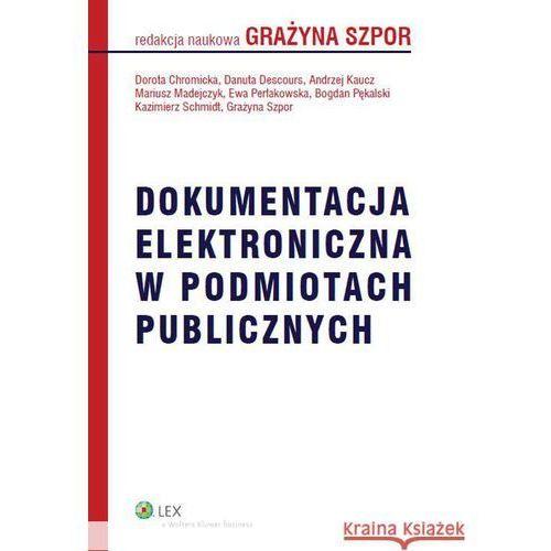 Dokumentacja elektroniczna w podmiotach publicznych, oprawa miękka