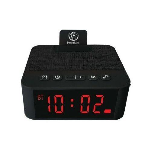 REBELTEC głośnik z budzikiem SoundClock 120 czarny, 8_2231646