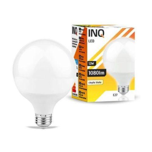 Żarówka LED E27 12W G95 3000K INQ Lighting LDG050WW