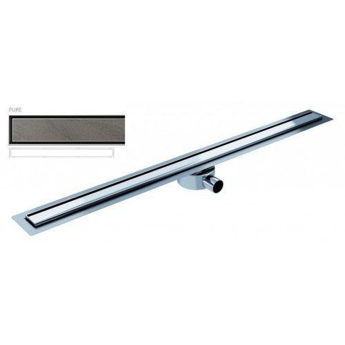 Odpływ liniowy elite slim pure 120 cm metalowy syfon el1200pu marki Wiper