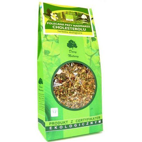 Polecana przy nadmiarze cholesterolu Eko 200g - herbatka Dary Natury, 5902741007896