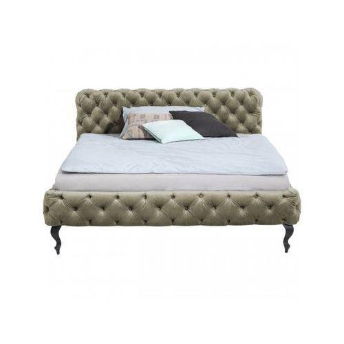 Kare Design Łóżko Desire 160x200cm Khaki - 81242