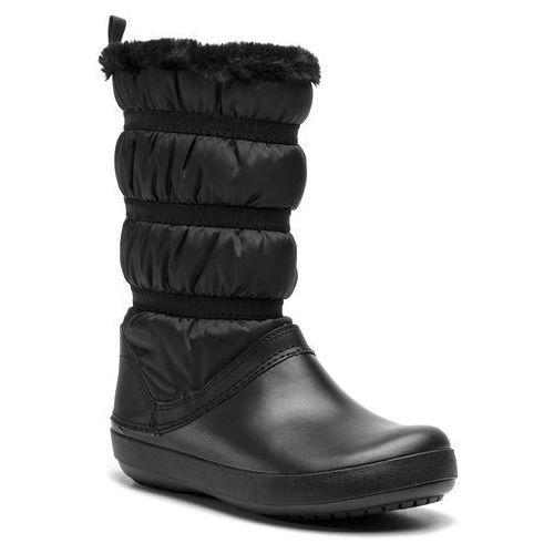 Śniegowce CROCS - Crocband Winter Boot W 205314 Black/Black