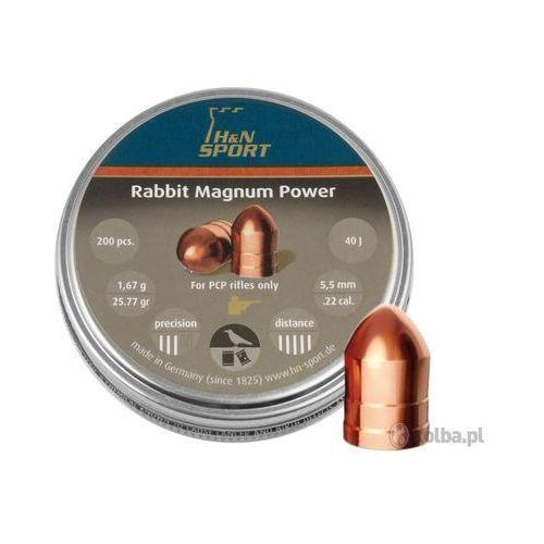 Śrut diabolo H&N Rabbit Magnum II Power 5,5 mm 200 szt.