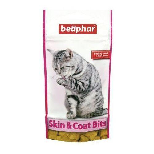 Skin & coat bits 35g - przysmak z witaminami a i e oraz kw. tłuszcz. Ω 3 & 6 marki Beaphar