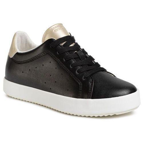 Sneakersy GEOX - D Blomiee C D026HC 054AJ C9258 Black/Lt Gold