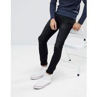 Celio Black Skinny Fit Jeans - Black, jeansy