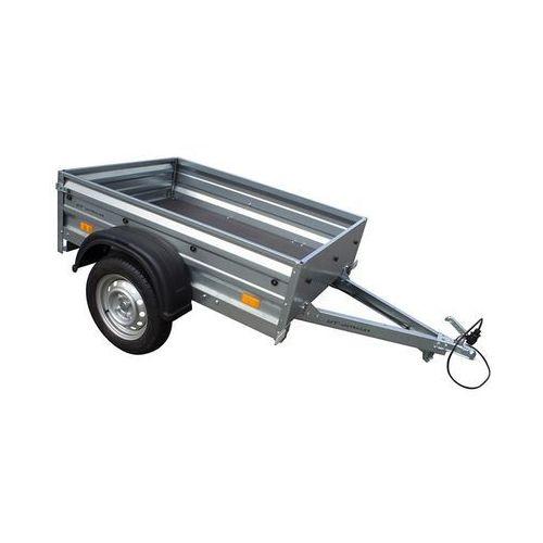 Unitrailer Przyczepa samochodowa 150 x 106 lekka dmc 750 kg garden trailer 150