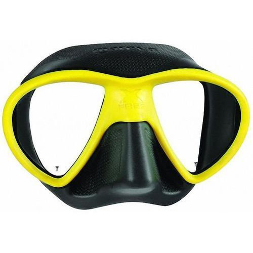 Maska do nurkowania x-free 411060 czarno-żółty + darmowy transport! marki Mares