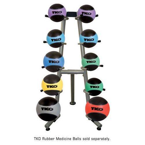 Stojak na piłki lekarskie commercial medicine ball rack marki Tko