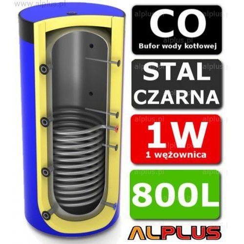 Bufor LEMET 800L z 1 Wężownicą do CO - Zbiornik Buforowy Zasobnik Akumulacyjny 800 litrów - Wysyłka Gratis