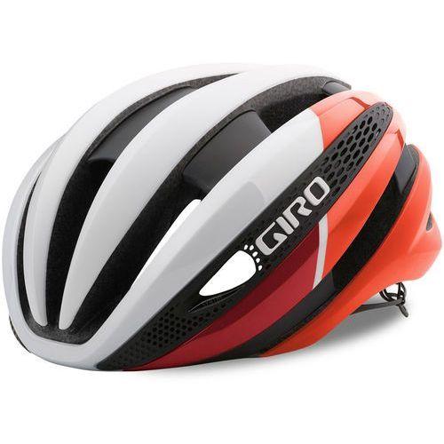 Giro synthe mips kask rowerowy czerwony/biały s | 51-55cm 2018 kaski rowerowe (0768686075872)
