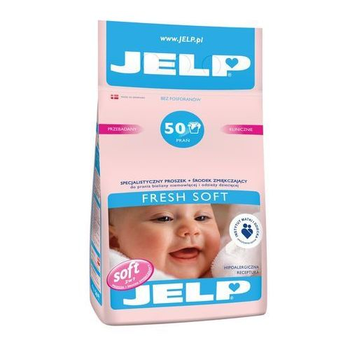 Jelp Pr d/pr 4kg 50pr biel soft*