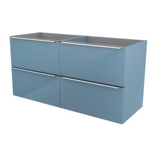 Szafka pod umywalkę imandra wisząca 120 cm niebieska marki Cooke&lewis