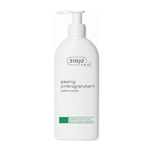pro zielona peeling z mikrogranulkami bardzo mocny 270ml hurtpro.eu - profesjonalne kosmetyki i wyposażenie salonu marki Ziaja