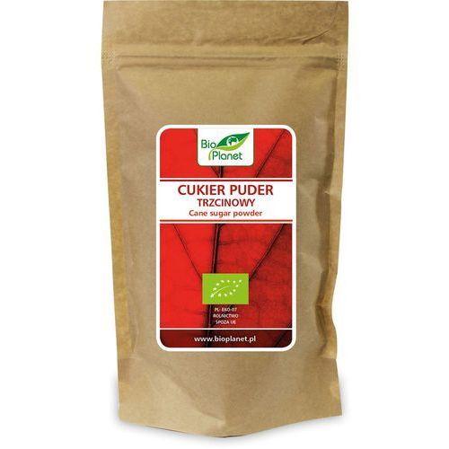 Bio planet - seria czerwona (cukry, syropy) Cukier puder trzcinowy bio 300 g - bio planet (5902983782650)