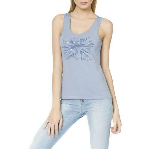 Pepe Jeans Christie Top Niebieski XS (8434341493306)
