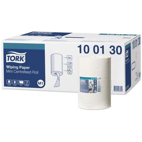 Czyściwo papierowe w mini roli do lekkich zabrudzeń białe m1 marki Tork