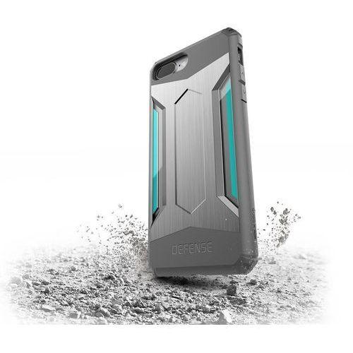 X-Doria Defense Gear - Etui iPhone 7 Plus (Silver), kolor szary