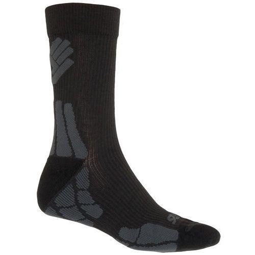 Sensor skarpety hiking merino wool black/gray 6/8
