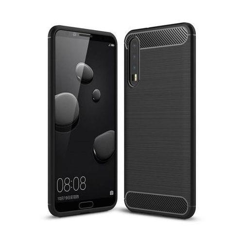 Tech-protect tpucarbon black | obudowa dla huawei p20 pro
