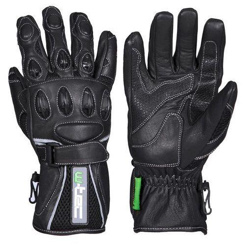 Motocyklowe rękawice twg-170 perfect, czarny, xxl marki W-tec