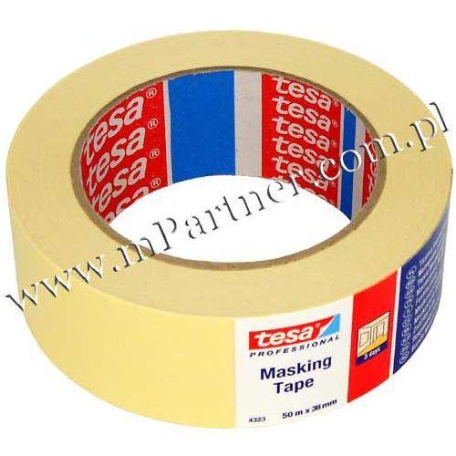Taśma papierowa maskująca 4323 38mm 50m marki Tesa