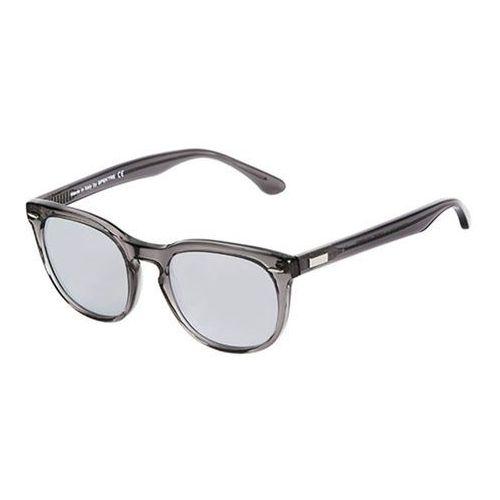 Okulary słoneczne mas 51 flat ms04aft/grey transparent (silver mirror) marki Spektre