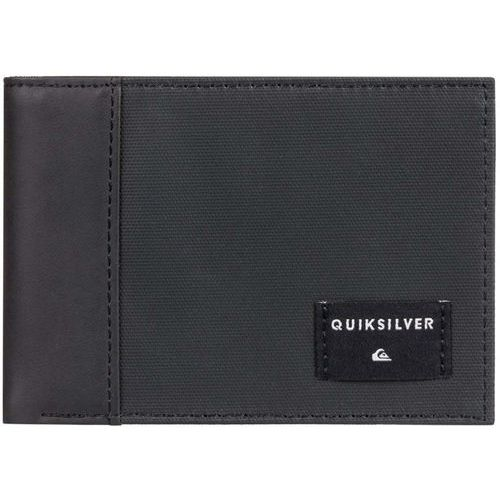 Portfel - freshness plus 4 black black (kvj0) rozmiar: l marki Quiksilver