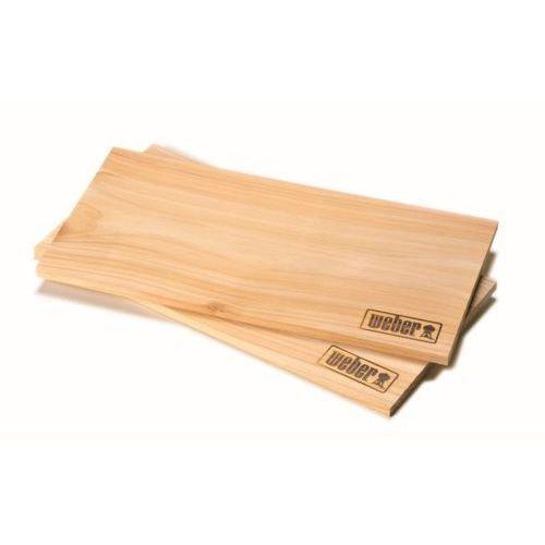 Weber Deseczki do wędzenia duże - drewno cedrowe 2szt.