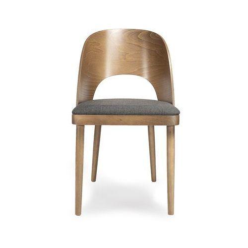 FAMEG:: Krzesło A-1411 orzech/ heron toffee 31, kolor szary