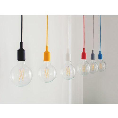 Lampa wisząca biała silikonowa ARAKS