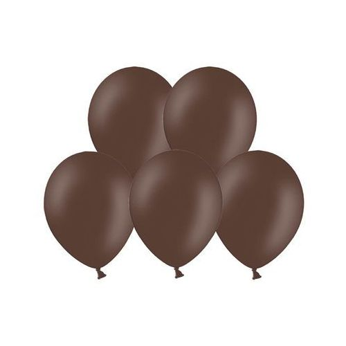 "Balony 12"" Strong, Brązowe, Cocoa Brown, pastelowe 10 szt. (5902230717756)"