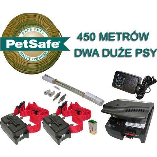 Elektryczny pastuch PetSafe - 2 duże psy - 450 metrów