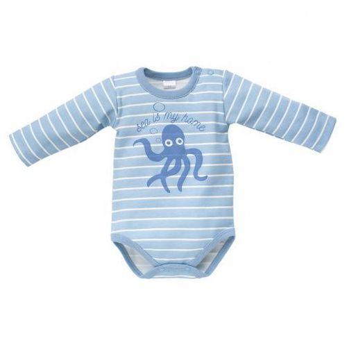 Body w Paseczki ( Długi Rękawek ) Sea World / Niebieskie, Pinokio, PIN3396