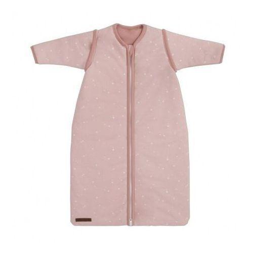 Śpiworek z odpinanymi rękawkami - Little Stars Pink - 70 cm - Little Dutch, kolor różowy
