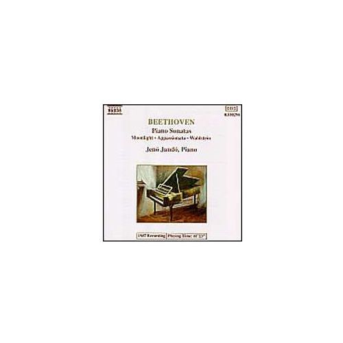 Naxos classical Piano sonatas - moonlight/appassionata/waldstein (4891030502949)