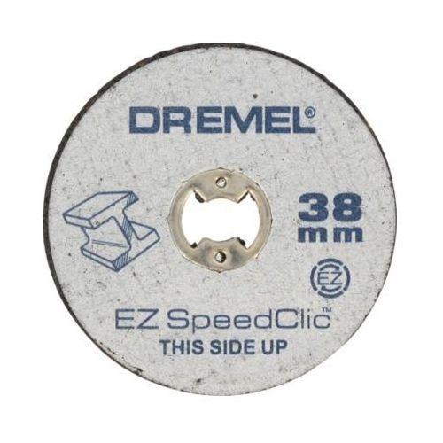 Speedclic system - 2615s456jc - zestaw tarcz sclic do metalu/5 tarcz do cięcia 38mm,1,25mm marki Dremel