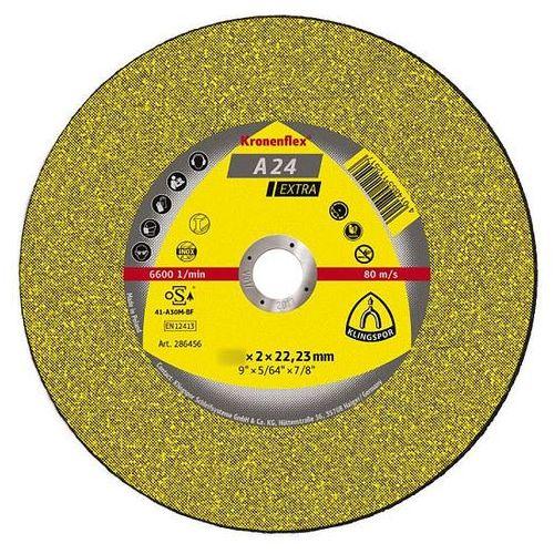 Klingspor Tarcza do cięcia kronenflex a 24 extra 230 x 3,0 x 22 mm płaska